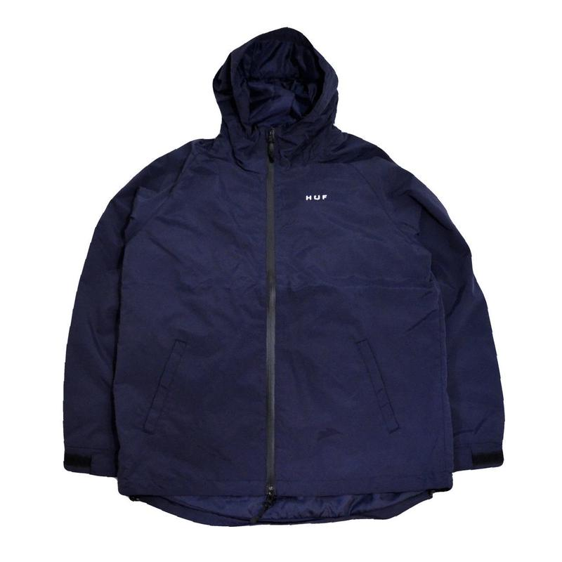 HUF MOUNTAIN JACKET (STANDARD SHELL) NAVY