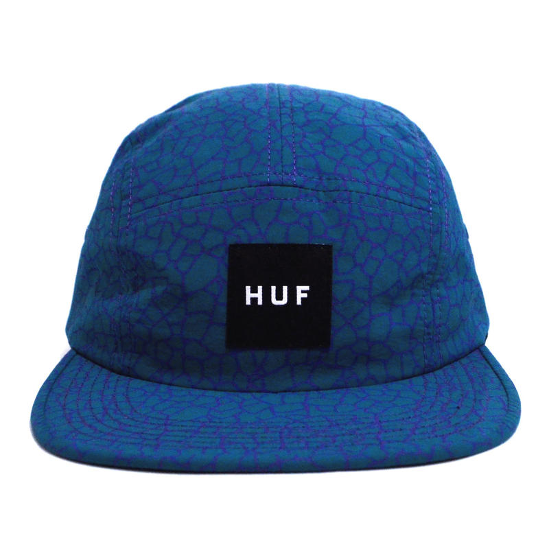 HUF 5PANEL CAP (QUAKE VOLLEY) GREEN