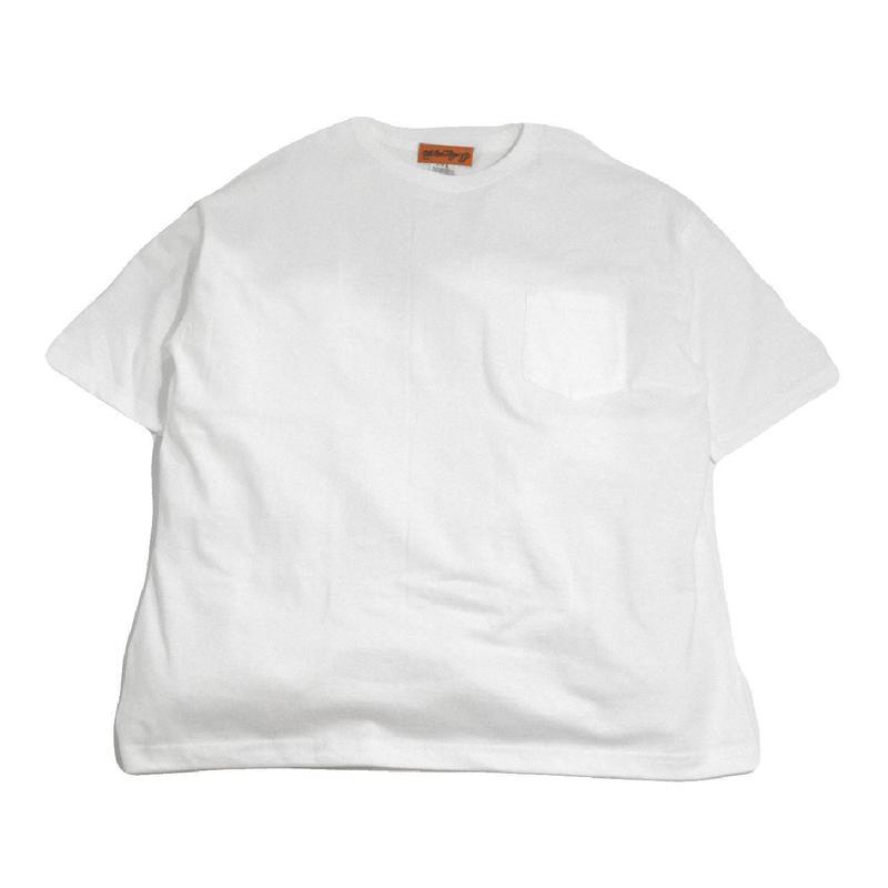 OldGoodThings S/S POCKET T-SHIRTS (OGT-POCKET) WHITE
