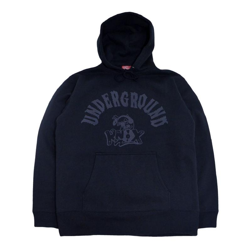 5656WORKINGS SWEAT HOODIE (UNDER GROUND KNOX) BLACK