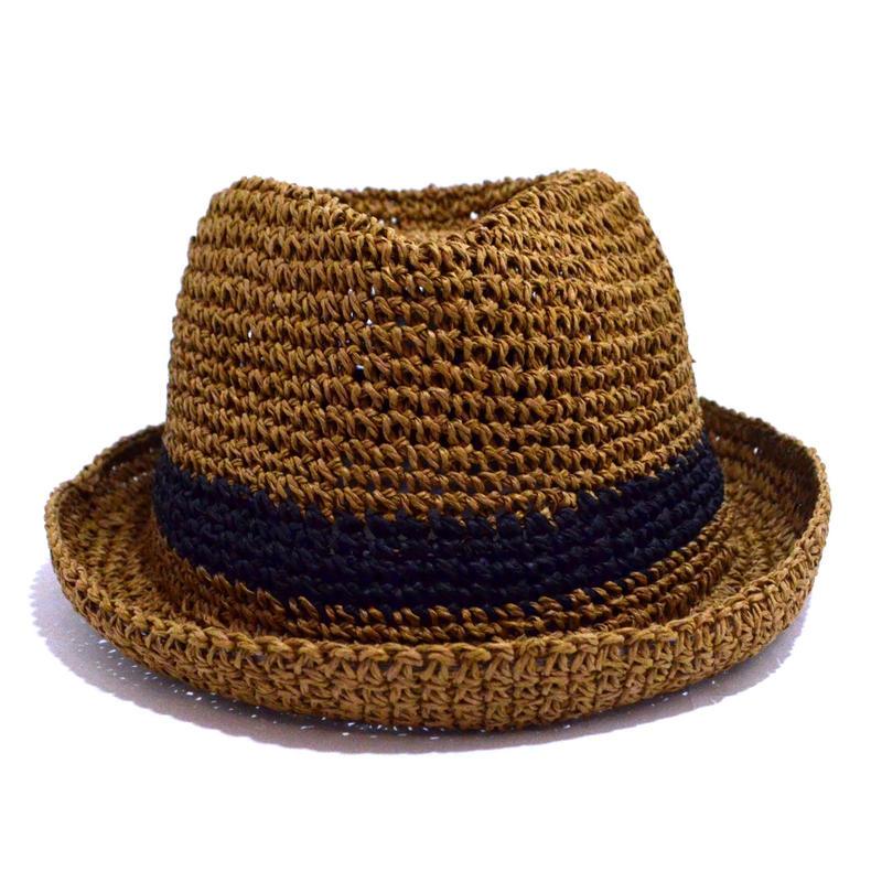 NO BRAND (PAPER HAT) CAMEL/BLACK
