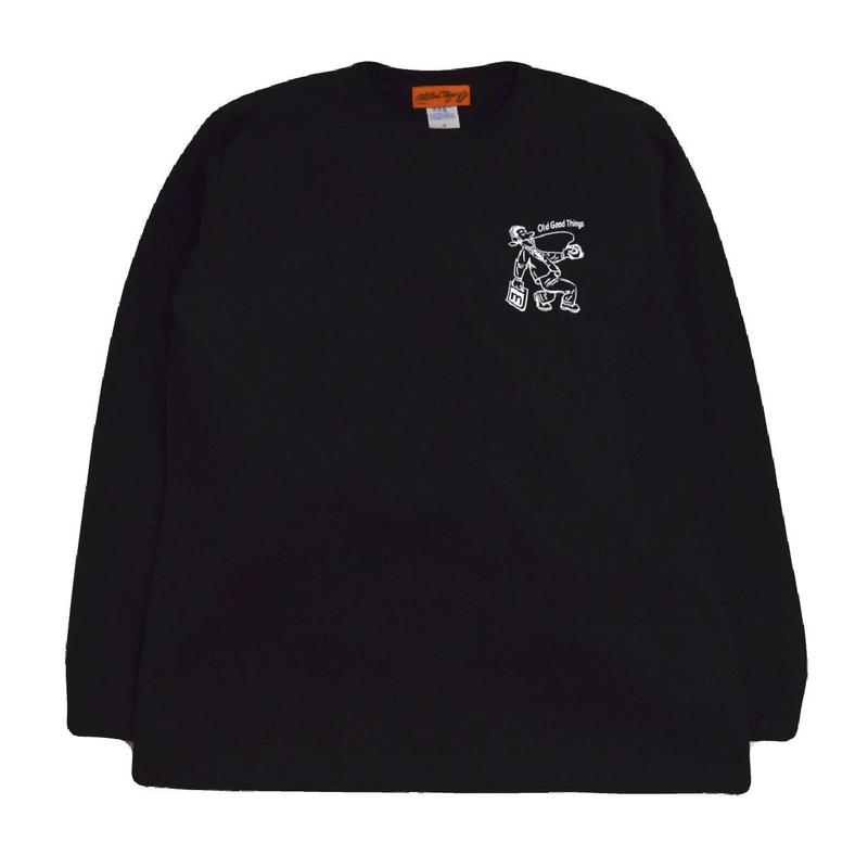 OldGoodThings L/S T-SHIRTS (GOOD VIBES) BLACK