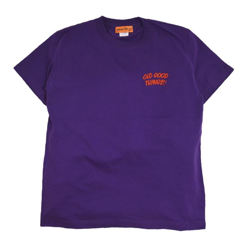 OldGoodThing S/S T-SHIRTS (OGT EMB) PURPLE