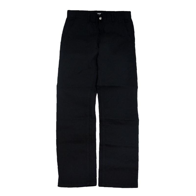 HUF CHINO PANTS (FULTON) BLACK