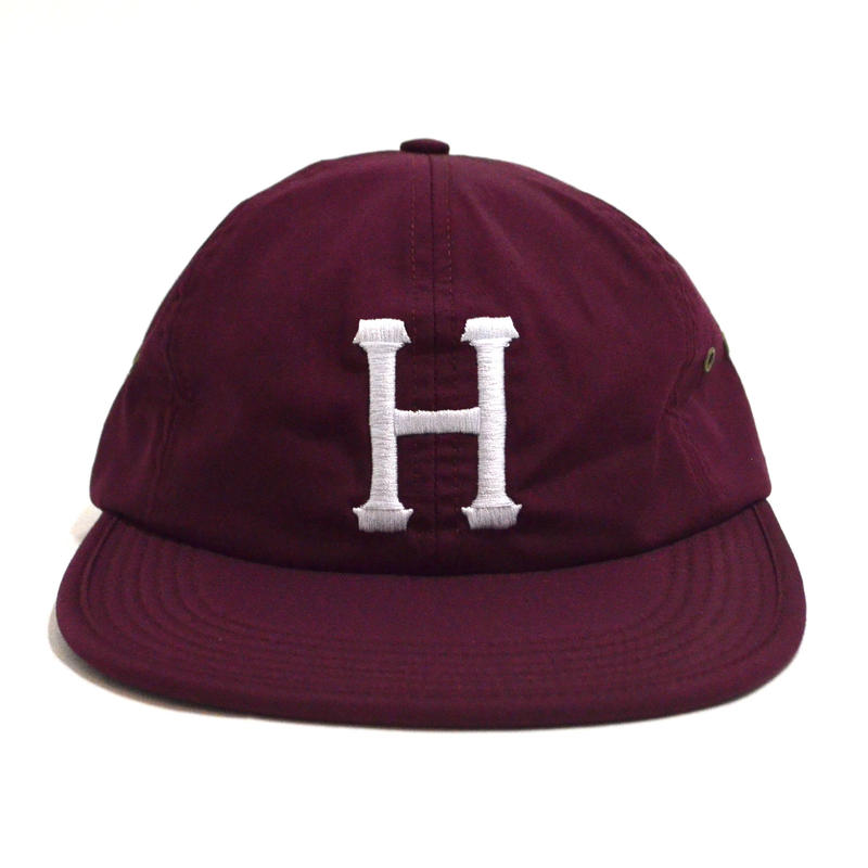 HUF 6PANEL CAP (FORMLESS) BURGUNDY
