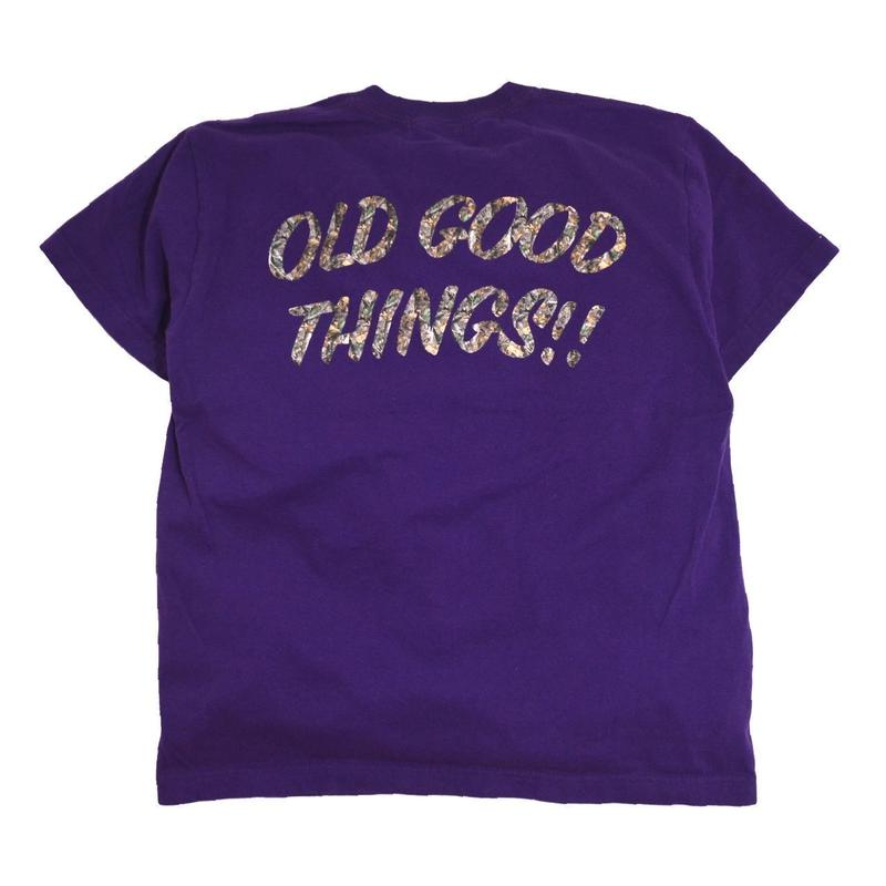 OldGoodThings S/S T-SHIRTS (SURVIVOR) PURPLE