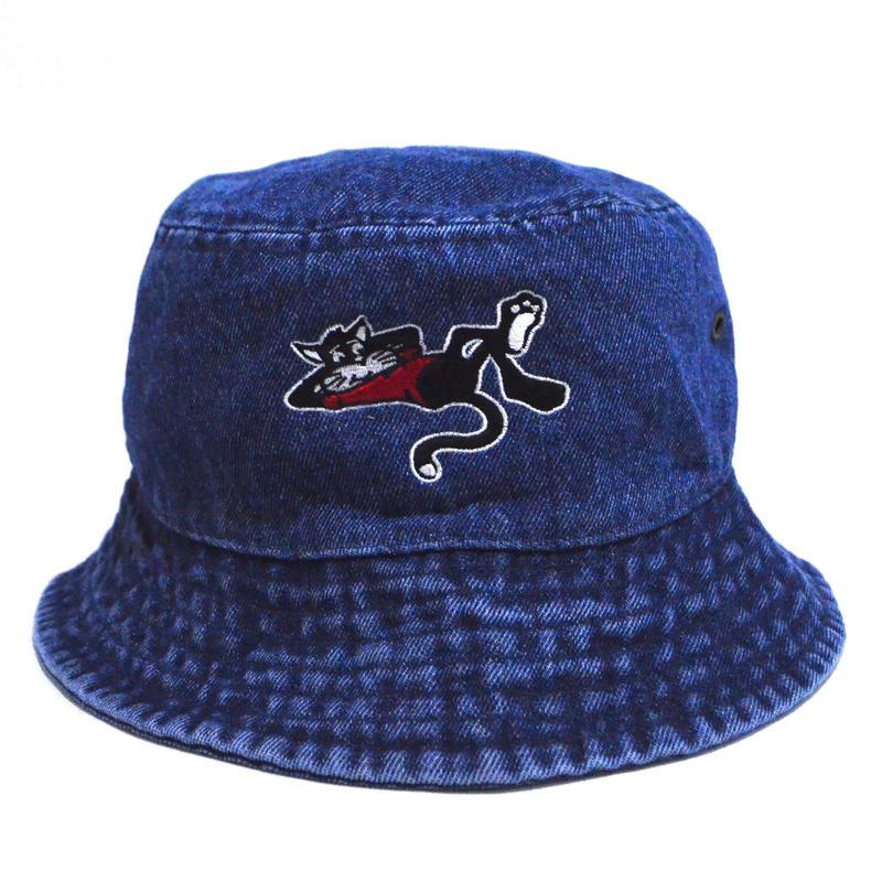 OldGoodThings BUCKET HAT (WHY THE RUSH?) BLUE DENIM