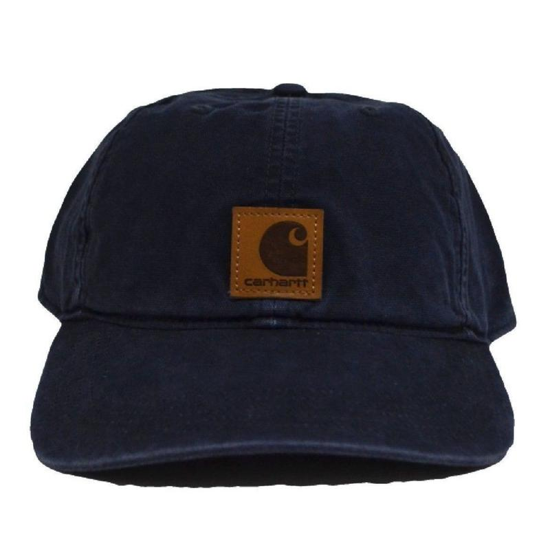 CARHARTT (6PANEL CAP)NAVY