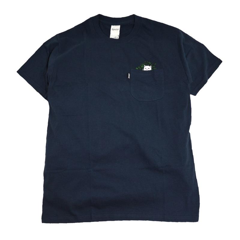 RIPNDIP S/S POCKET T-SHIRTS (LORD CAT NIP) NAVY