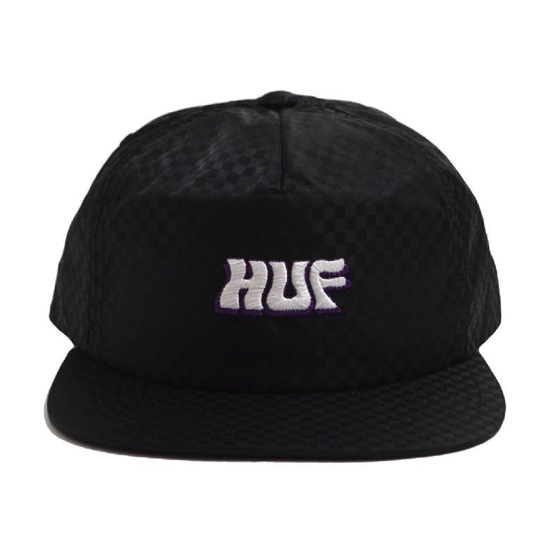 HUF SNAP BACK (BACK STAGE) BLACK