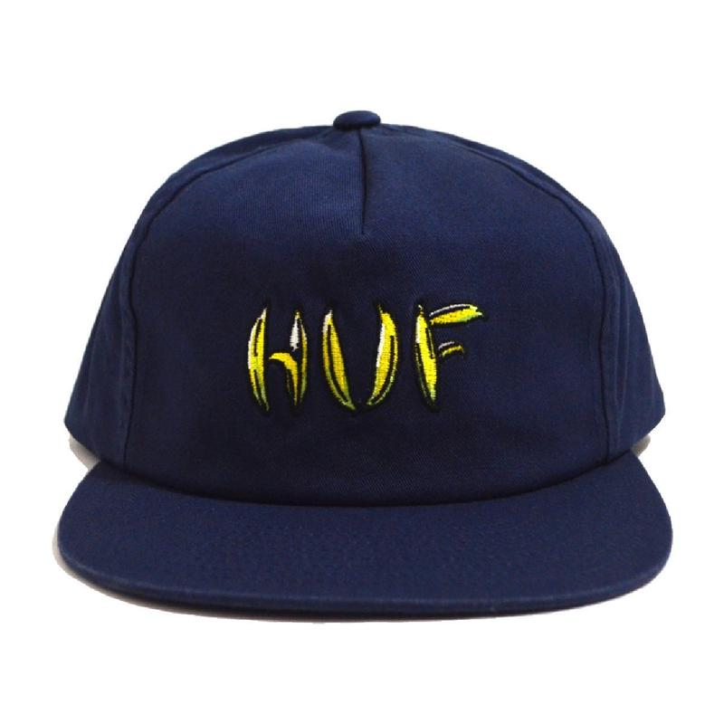 HUF SNAP BACK (BANANA) NAVY