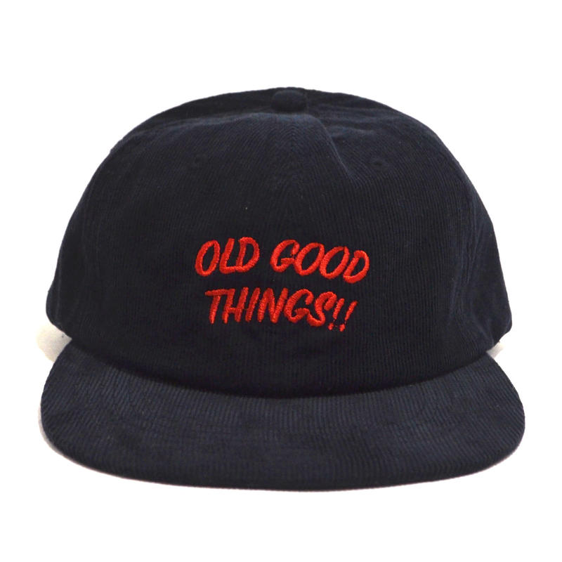 OldGoodThings 6PANEL CAP (CORDUROY) NAVY