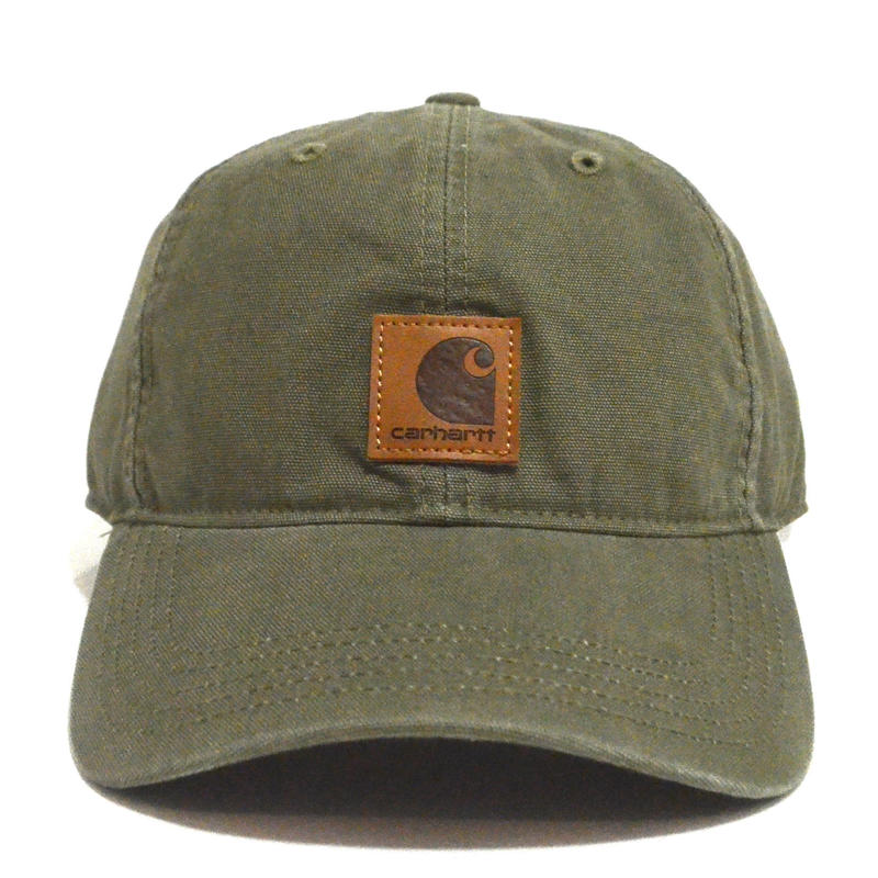 CARHARTT USA (6PANEL CAP) OLIVE