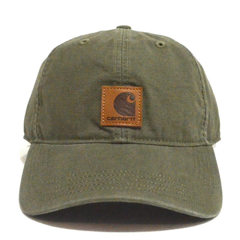 CARHARTT USA (6PANEL CAP) OLIVE