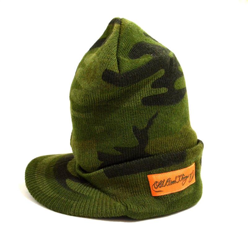 OldGoodThings (ORIGINAL KNIT CAP ツバ付き) CAMO