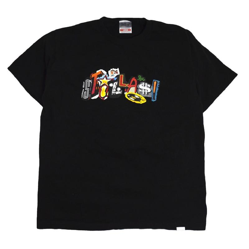 STILLAS S/S T-SHIRTS (90' LOGO) BLACK