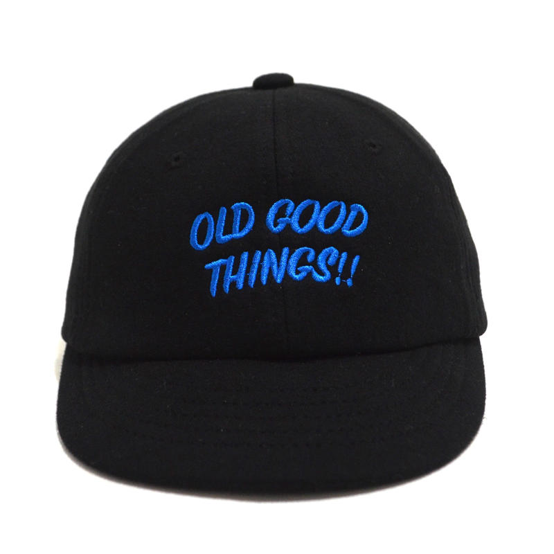 OldGoodThings (O.G.T ORIGINAL UMPIRE CAP) BLACK