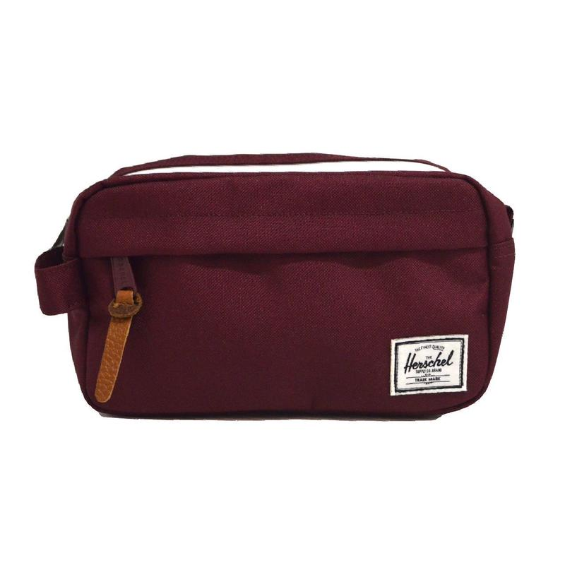 HERSCHEL TRAVEL POUCH (CHAPTER CARRY ON) BURGUNDY