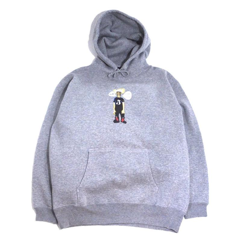 re:create ORIGINAL SWEAT HOODIE (re:create & WEST HARLEM) GREY