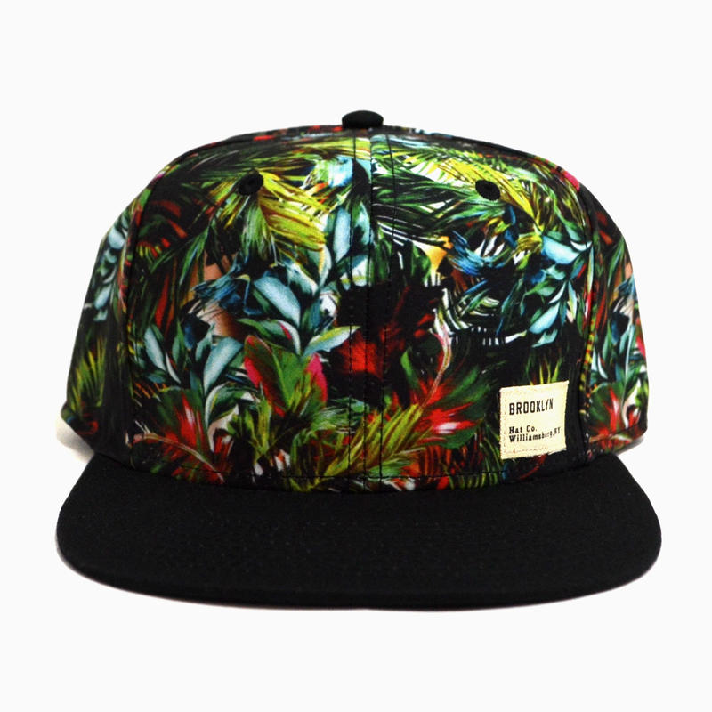 BROOKLYN HAT CO. SNAPBACK (MIAMI VOICE) BLACK