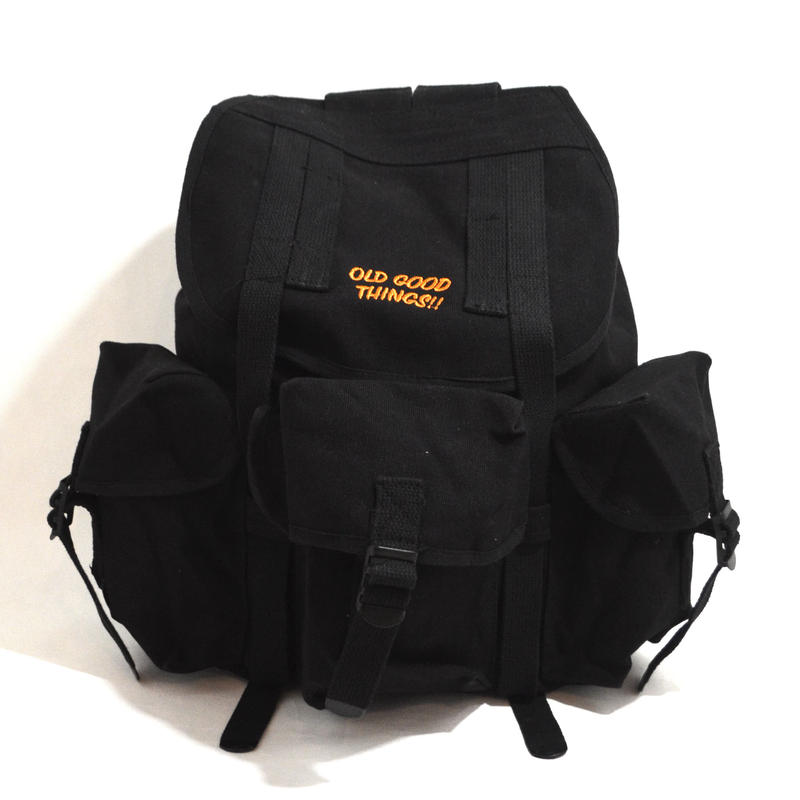 ldGoodThings BACKPACK (EXPEDITION BAG) BLACK