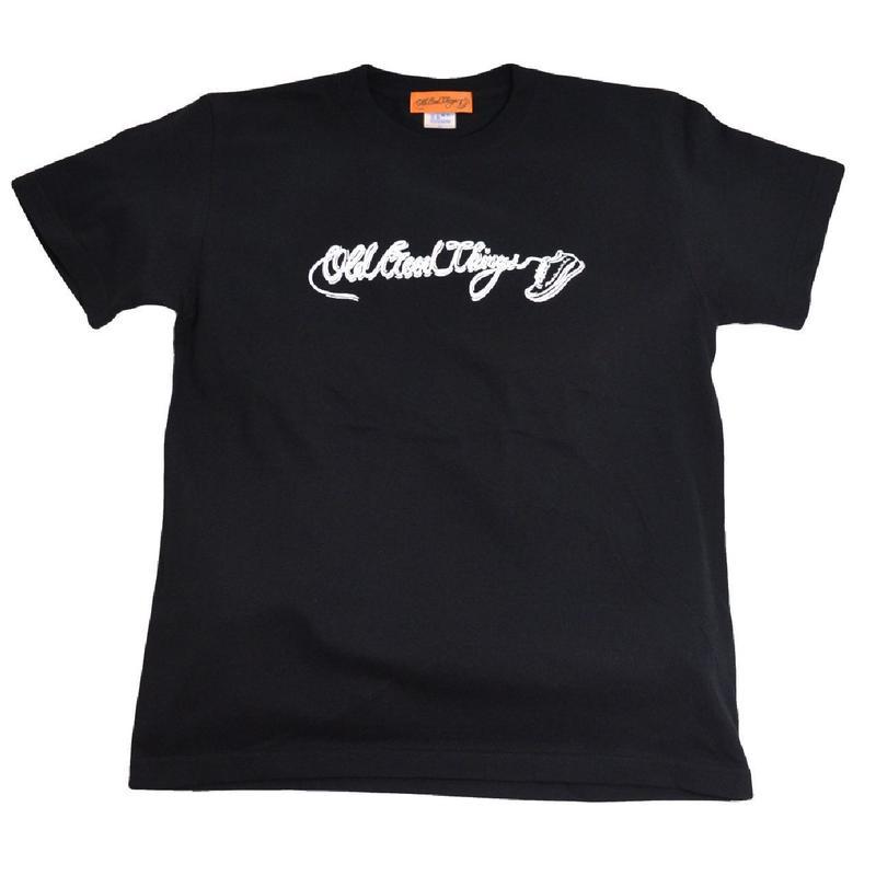 OldGoodThings S/S T-SHIRTS (ORIGINAL LOGO ) BLACK