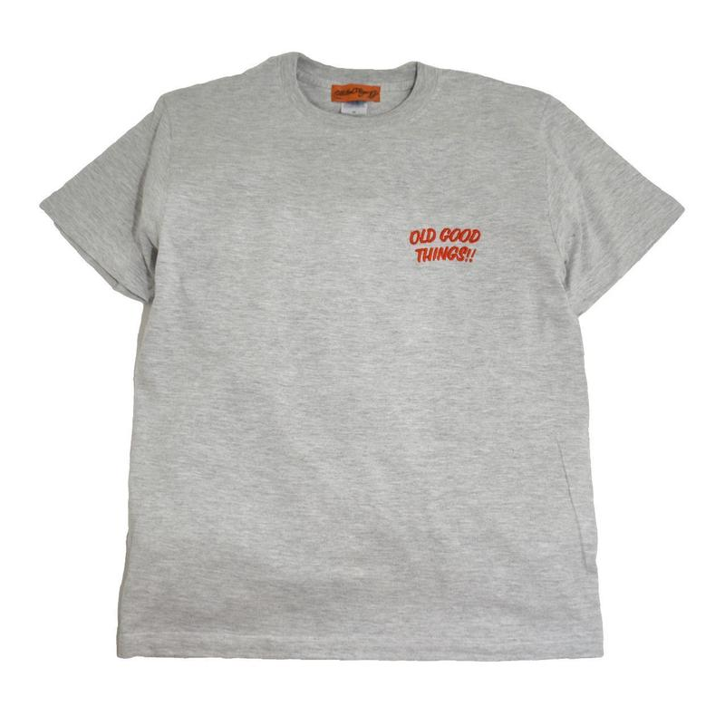 OldGoodThings S/S T-SHIRTS (OGT EMB) ASH GREY