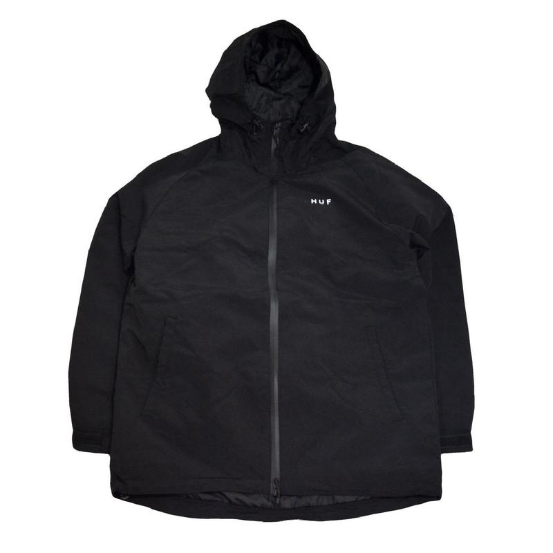 HUF MOUNTAIN JACKET (STANDARD SHELL) BLACK