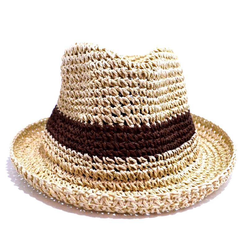 NO BRAND (PAPER HAT) BEIGE/BROWN