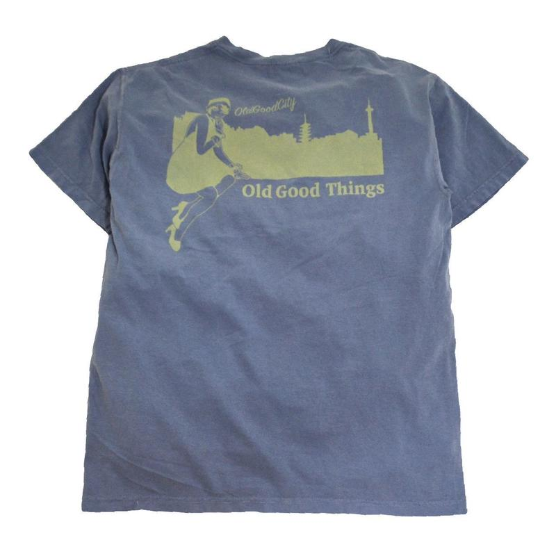 OldGoodThings S/S T-SHIRTS (OLD GOOD CITY) NAVY