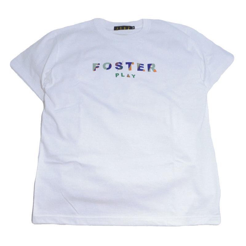 JAGZ S/S T-SHIRTS (FOSTER PLAY) WHITE