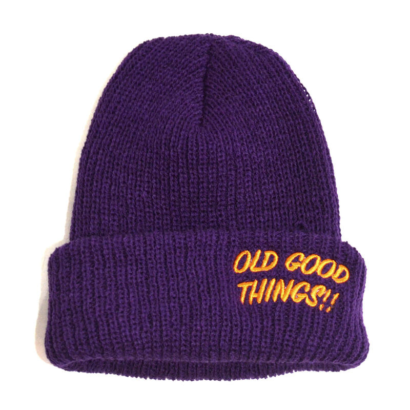 OldGoodThings (O.G.T ORIGINAL WATCH CAP) PURPLE