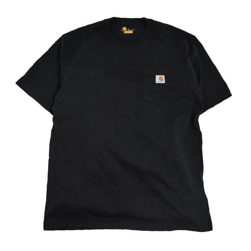 CARHARTT USA S/S POCKET T-SHIRTS BLACK