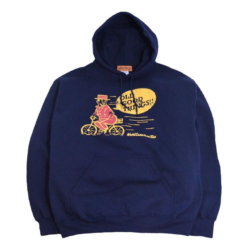 OldGoodThings SWEAT HOODIE (NEVER) NAVY