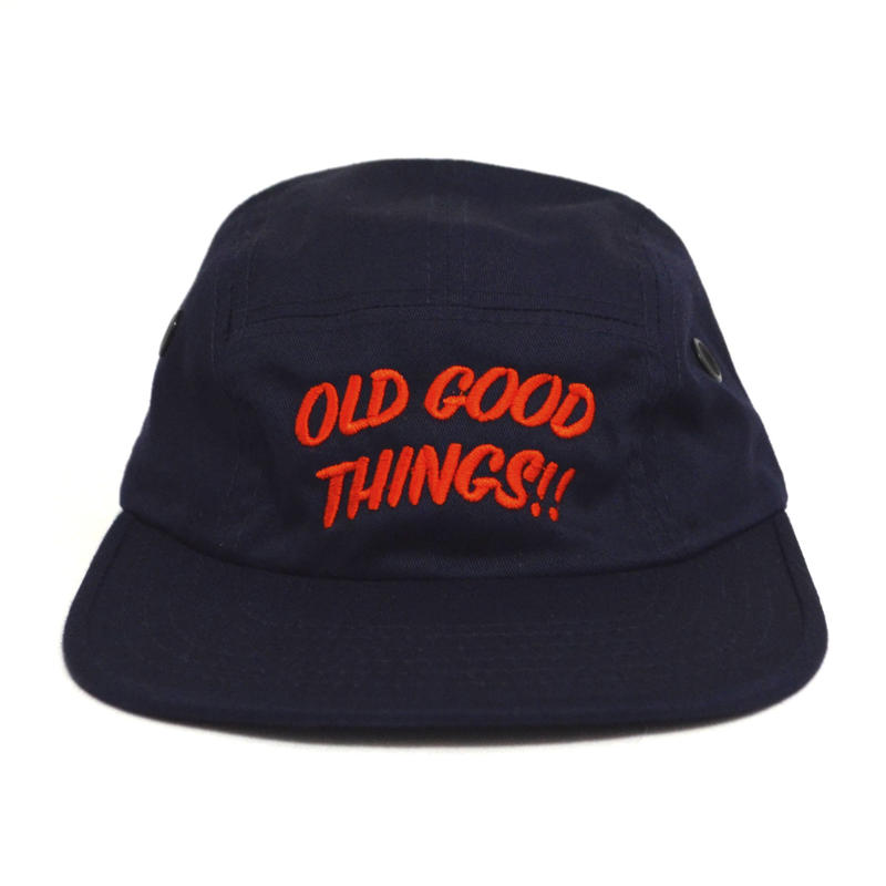 OldGoodThings 5PANEL CAP (ORIGINAL LOGO) NAVY