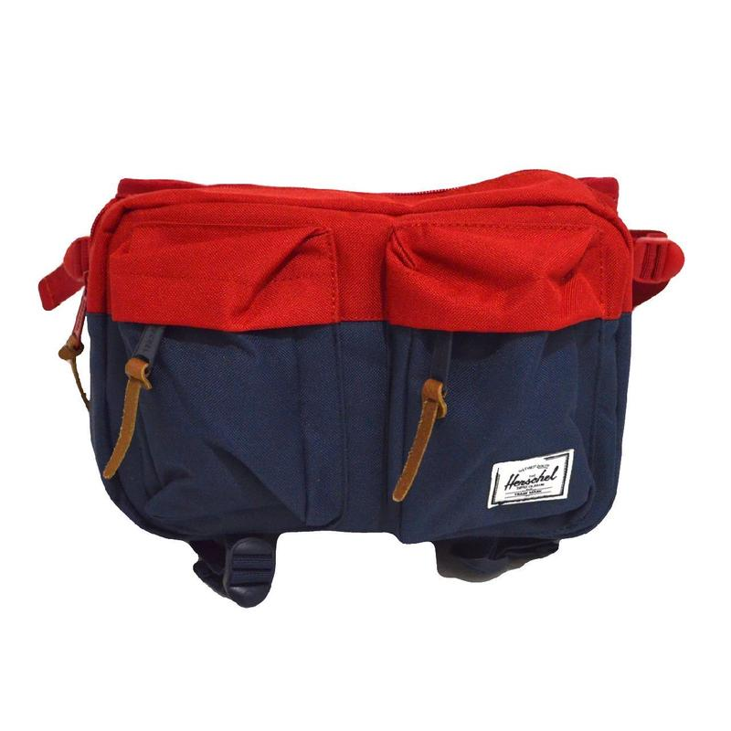 HERSCHEL WAIST BAG (EIGHTEEN) NAVY/RED