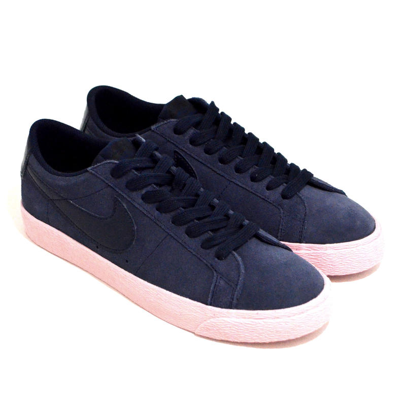 NIKE SB (SB BLAZER LOW) NAVY/PURPLE