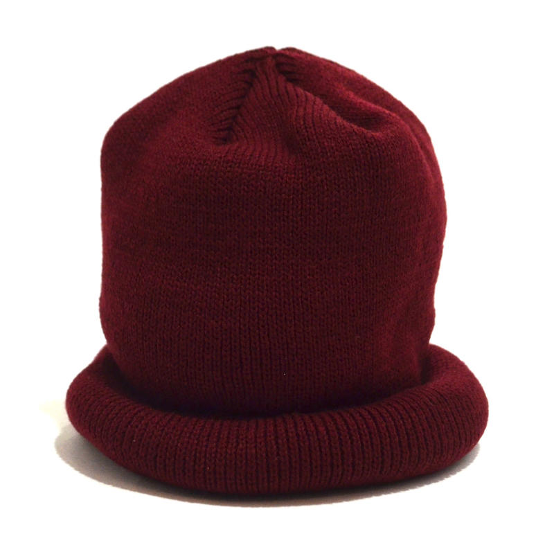 NO BRAND (WATCH CAP) BURGUNDY
