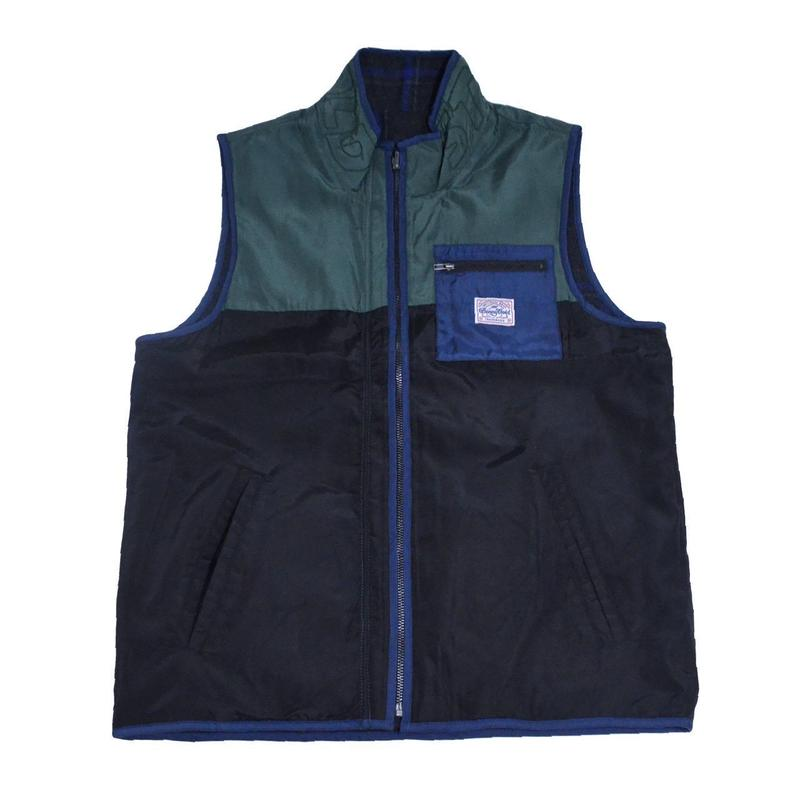 BENNY GOLD VEST (ALPINE REVERSIBLE VEST) BLACK