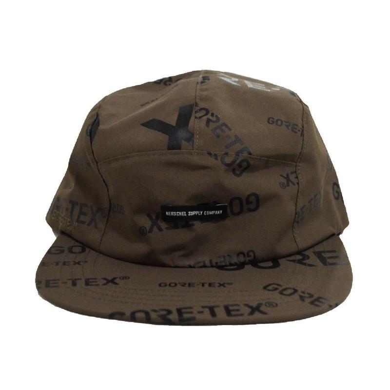 HERSCHEL 5PANEL CAP (GLENDALE) KHAKI