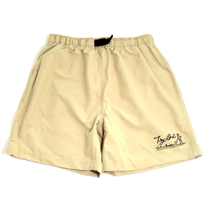 OldGoodThings NYLON SHORTS (TRY OUT) KHAKI