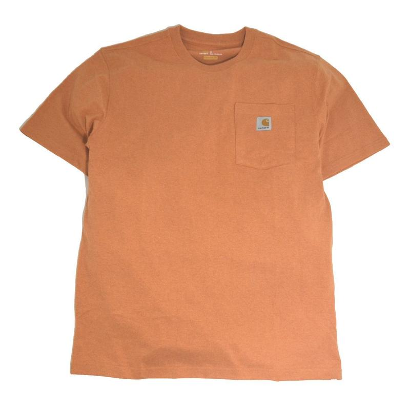 CARHARTT USA S/S POCKET T-SHIRTS H.ORANGE