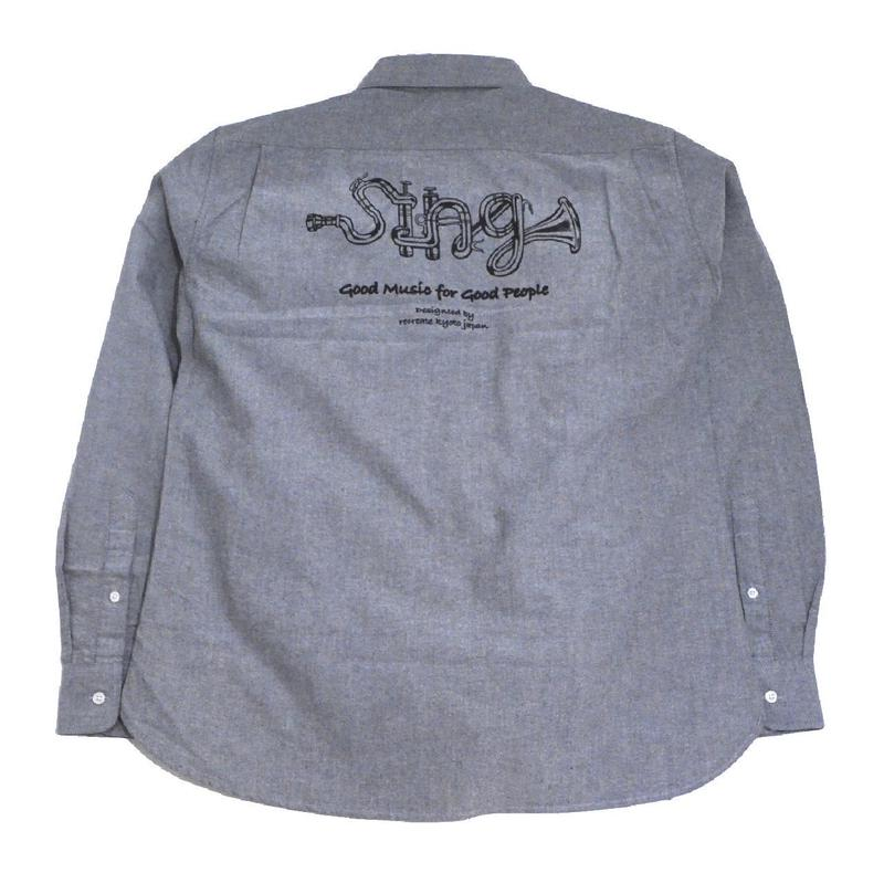 OldGoodThings L/S OX SHIRTS (SING LIMITED) GREY