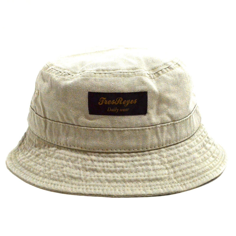 TRESREYES (ORIGINAL BUCKET HAT) WASH SAND