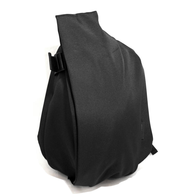 Cote & Ciel BACKPACK (ISAR ECO YARN) BLACK (M-size)