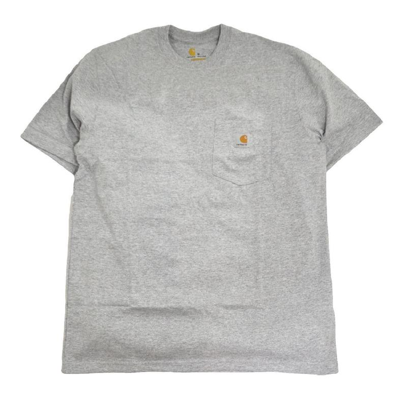 CARHARTT USA S/S POCKET T-SHIRTS H.GREY