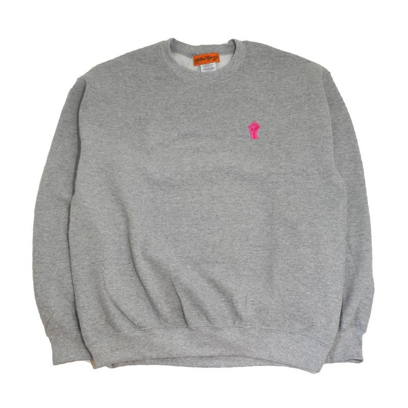 OldGoodThings CREW NECK SWEAT (F.T.F) GREY