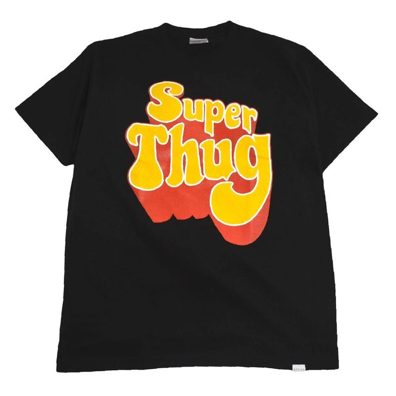 STILLAS S/S T-SHIRTS (SUPER THUG) BLACK
