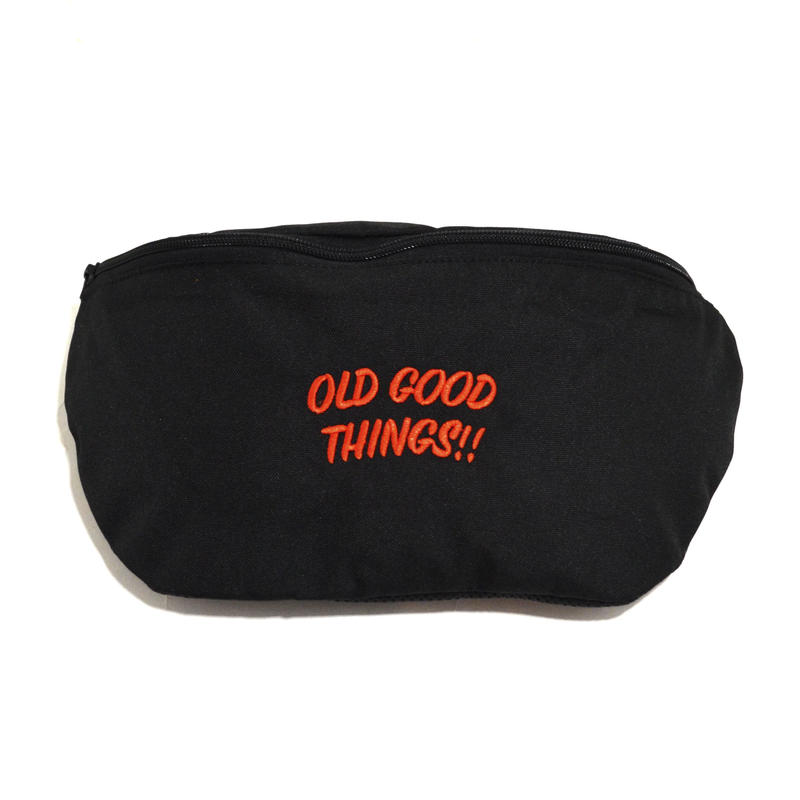 OldGoodThings MINI SHOULDER BAG (O.G.T ORIGINAL) BLACK