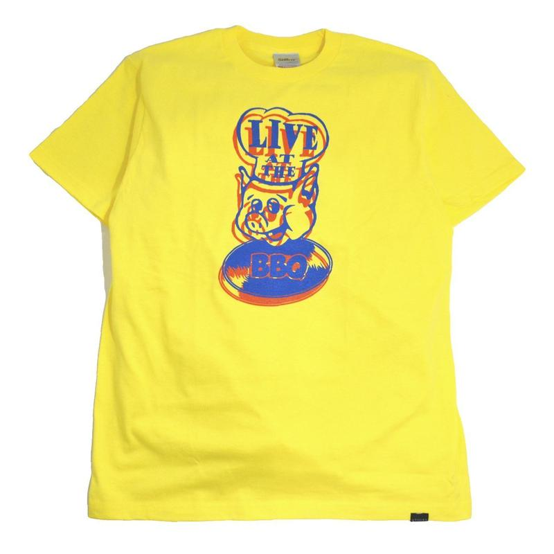 STILLAS S/S T-SHIRTS (LIVE AT THE BBQ) L.YELLOW